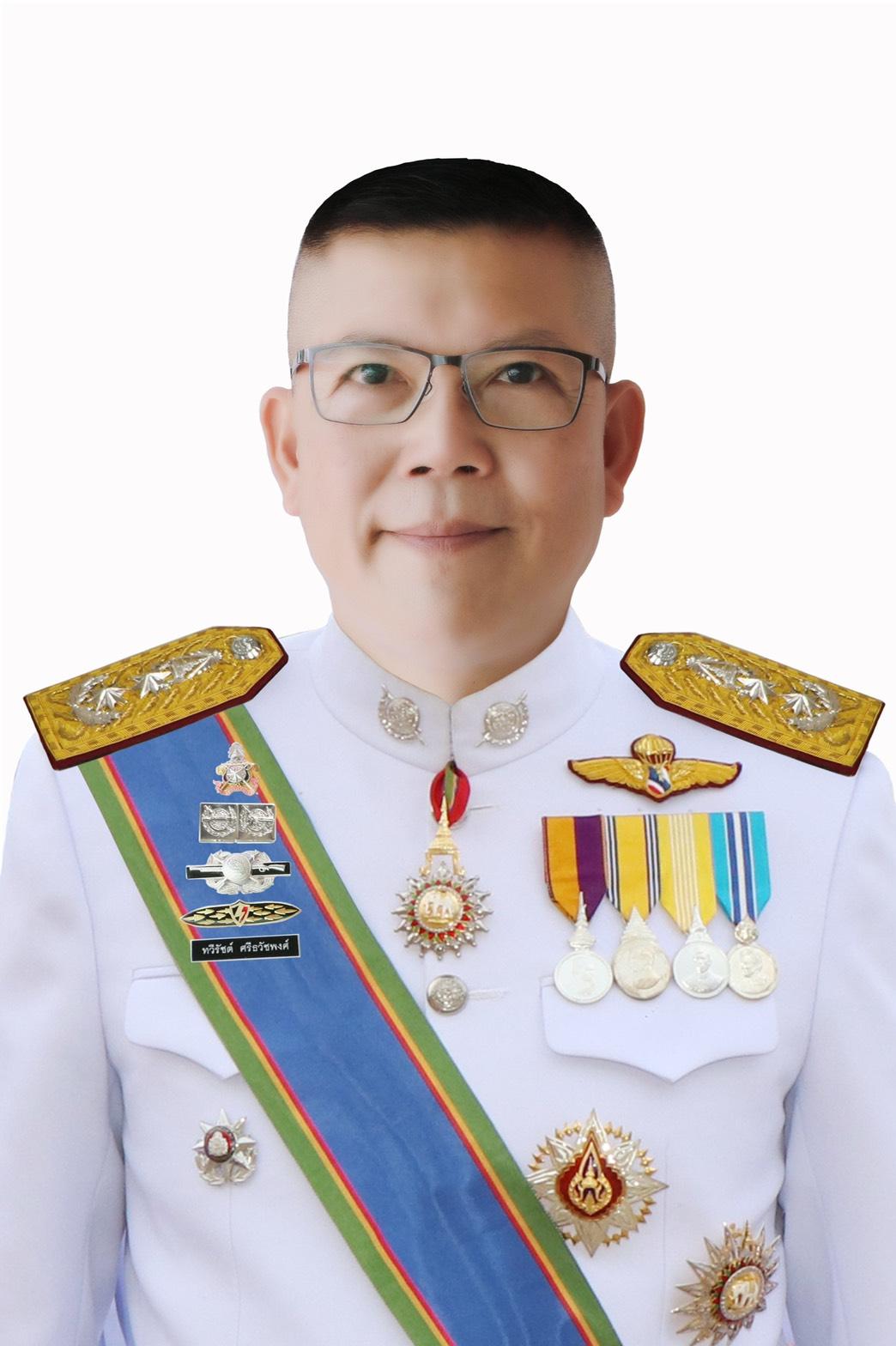พล.ต.ต.ทวีรัชต์ ศรีธวัชพงศ์ ผู้บังคับการตำรวจสันติบาล ๔