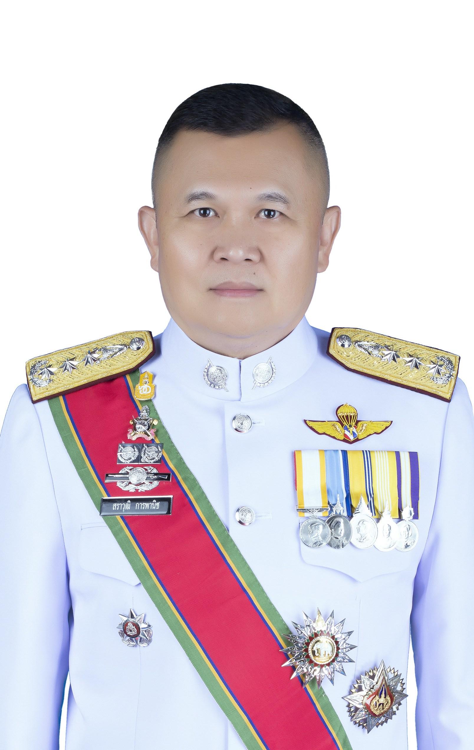 พล.ต.ท.สราวุฒิ การพานิช ผู้บัญชาการตำรวจสันติบาล