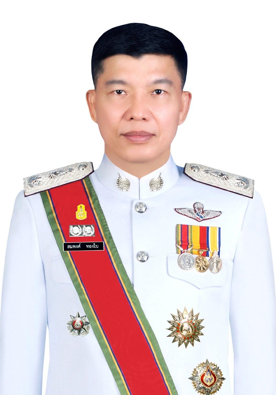 พล.ต.ต.สมพงศ์ ทองใบ ผู้บังคับการตำรวจสันติบาล ๔